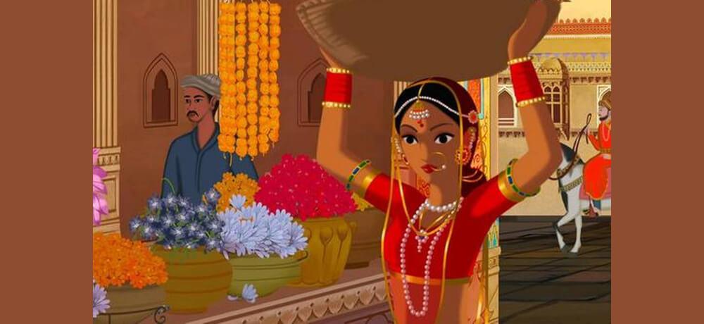 Bombay Rose Indian imated film Netflix Still