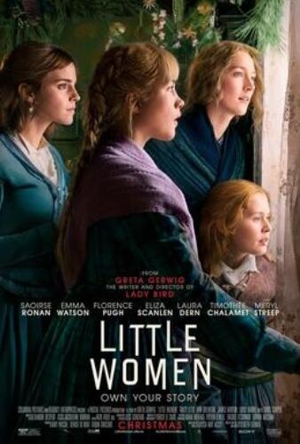 Little Women Saoirse Ronan Emma Watson Florence Pugh  Film Poster