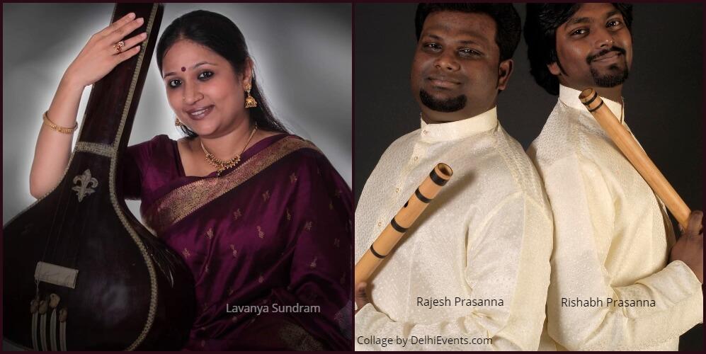 Musicians Lavanya Sundram Rajesh Rishabh Prasanna