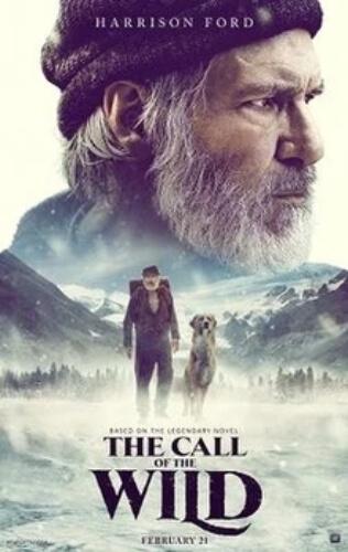 Call Wild Harrison Ford Dan Stevens Omar Sy Film Poster