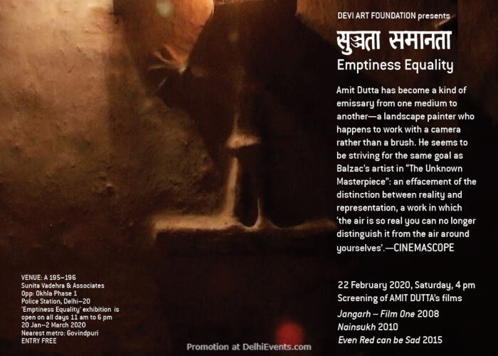 Screening Amit Duttas Films Sunita Vadehra Associates Okhla Creative