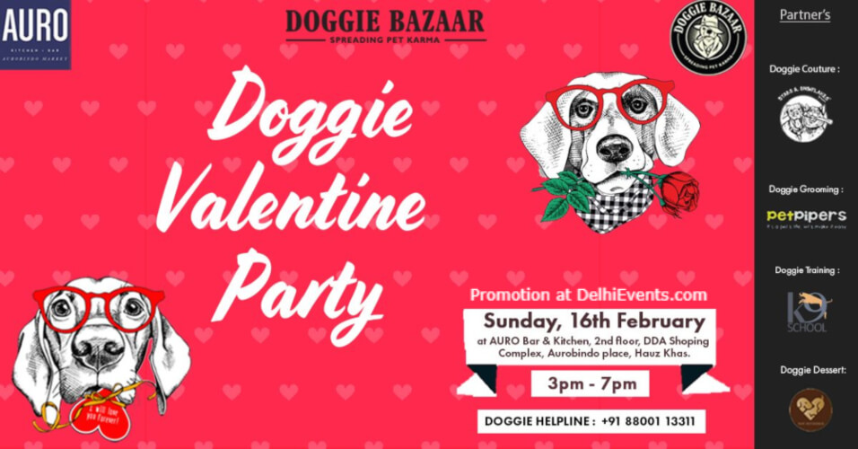 Doggie Valentine Party Auro Kitchen Bar Hauz Khas Creative