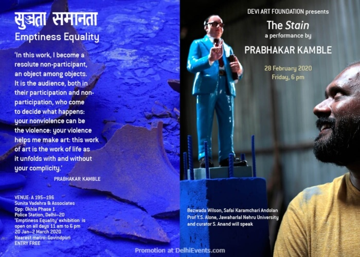 Stain Performance Prabhakar Kamble Followed Conversation Sunita Vadehra Associates Okhla Creative