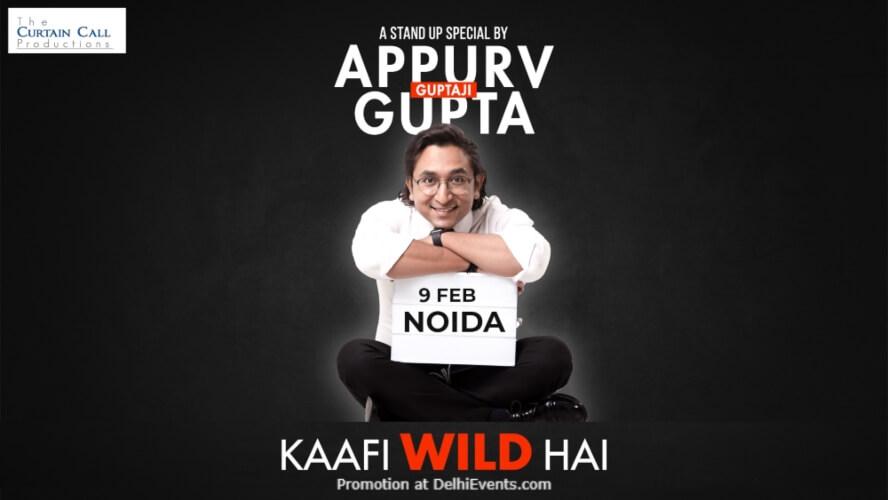 Kaafi Wild Hai Standup Comedy Appurv Gupta Imperfecto Ruin Pub Noida Creative