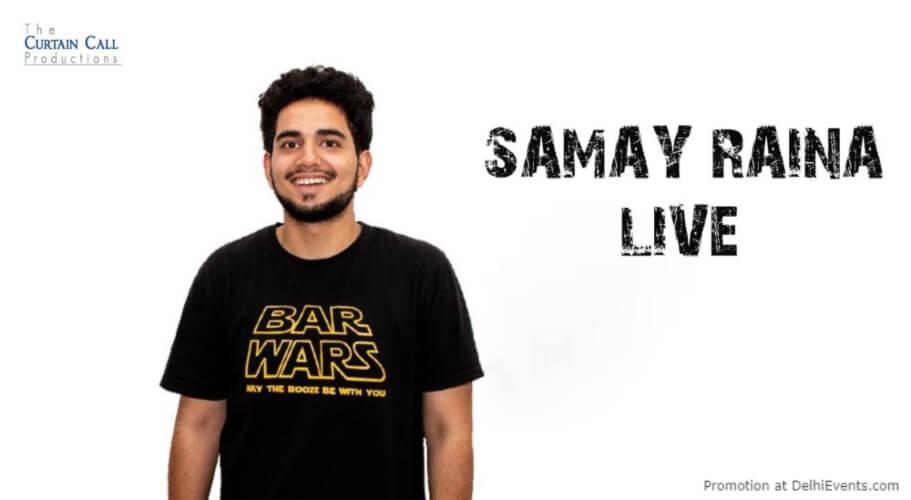 Standup Comedy Samay Raina Imperfecto Patio Gurugram Creative