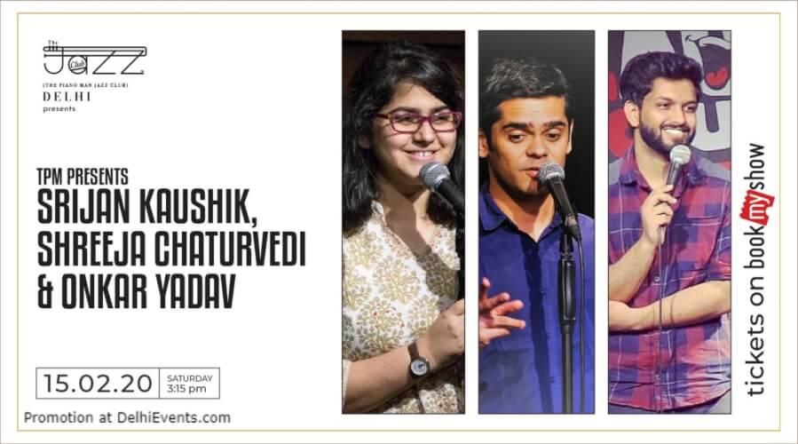Standup Comedy Srijan Shreeja onkar Piano Man Jazz Club Safdarjung Enclave Creative