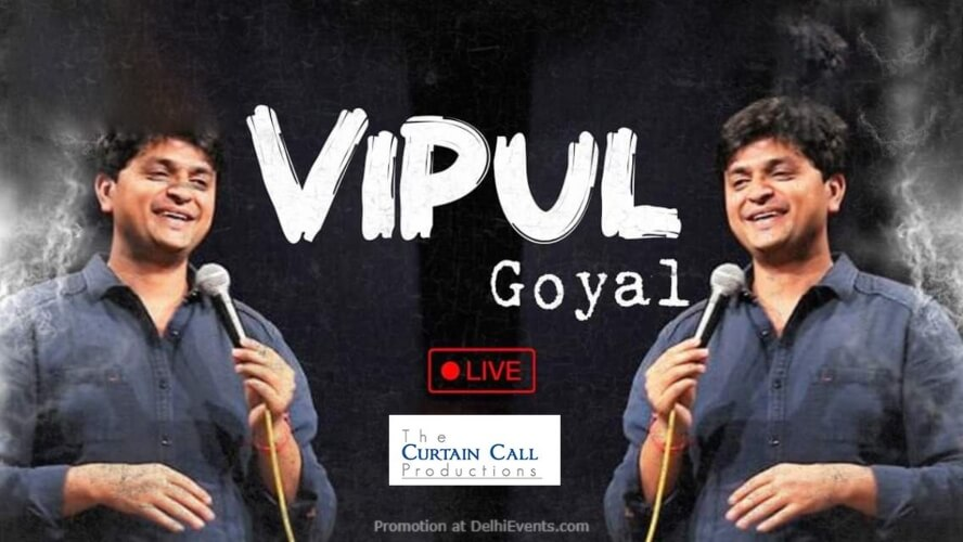 Standup Comedy Vipul Goyal Imperfecto Ruin Pub Noida Creative