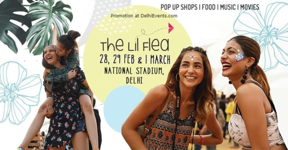Lil Flea Delhi 2020 Edition Major Dhyan Chand National Stadium India Gate Creative