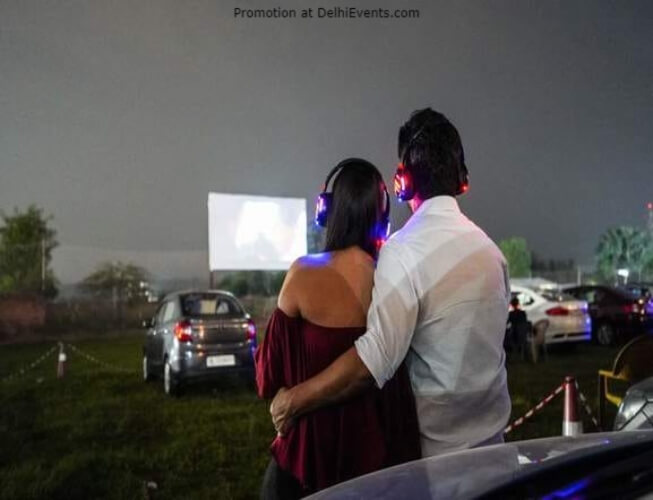 Drive Cinema Valentines Special SCC Backyard Gurugram Still
