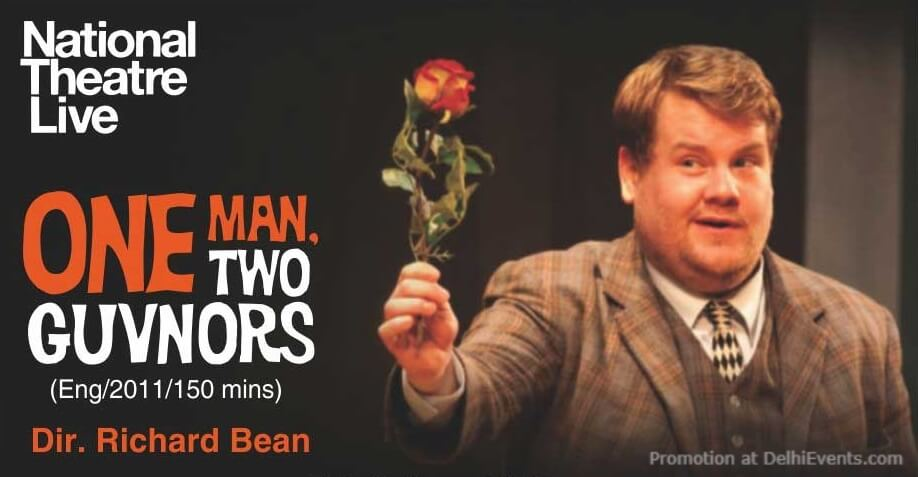 NTlive Broadcast Encore one Man Two Guvnors Creative