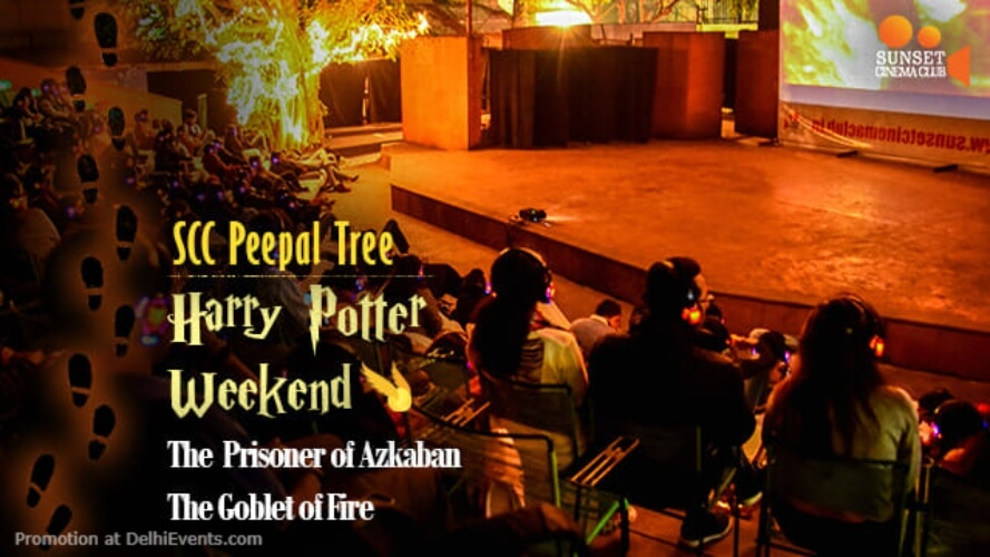 Open Air Cinema Harry Potter Weekend Akshara Theatre Baba Kharak Singh Marg Creative