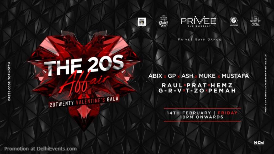 20s AffairValentine Gala Privee CP Creative