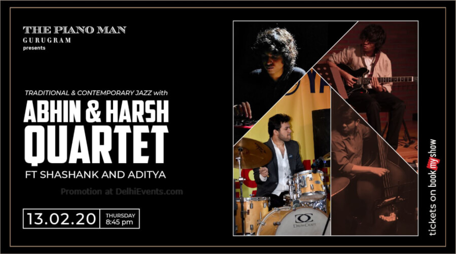 Abhin Harsh Quartet Shashank Aditya Piano Man Gurugram Creative