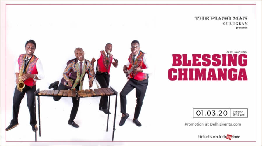 AfroJazz Blessing Bled Chimanga Piano Man Gurugram Creative