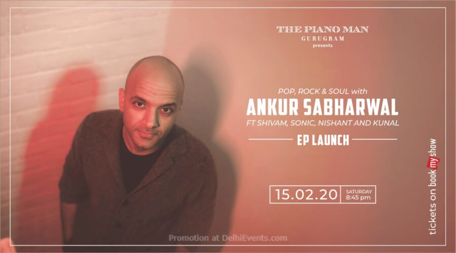 Ankur Sabharwal EP Launch Piano Man Gurugram Creative