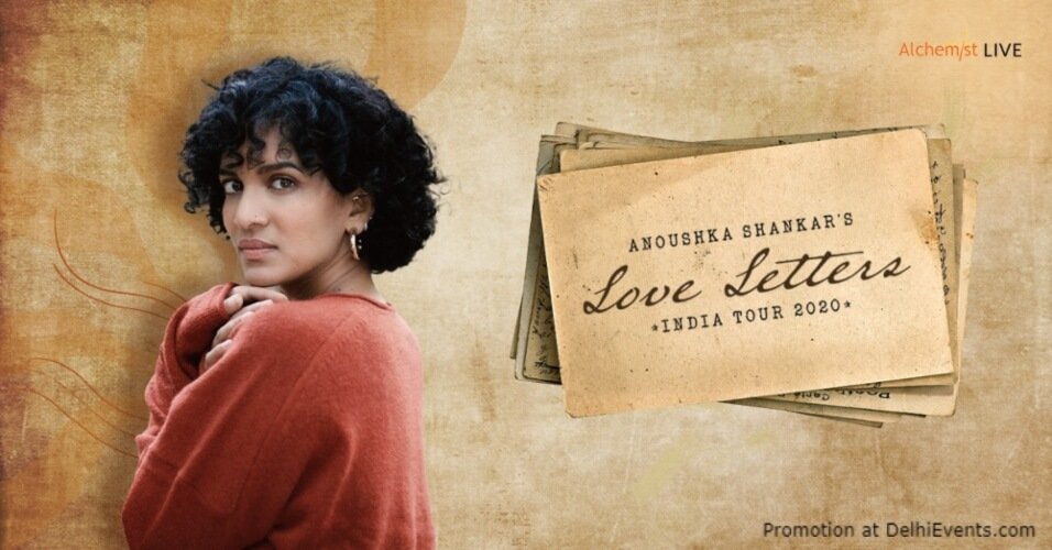 Anoushka Shankar's Love Letters India tour Creative