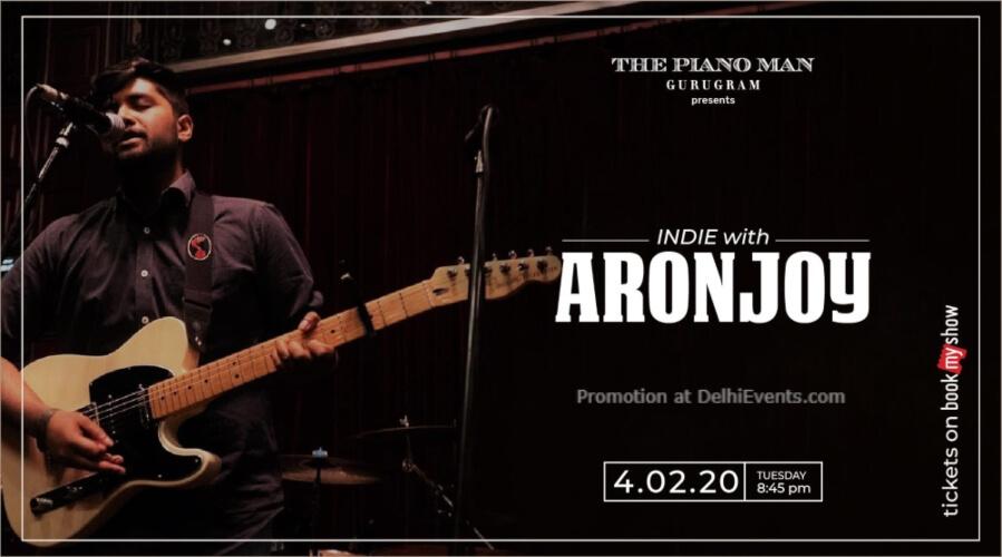 Aronjoy Piano Man Gurugram Creative