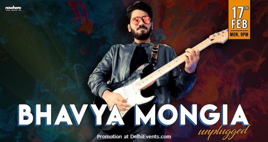 Bhavya Mongia Unplugged Nowhere Terrace BrewPub Cafe Gurugram Creative