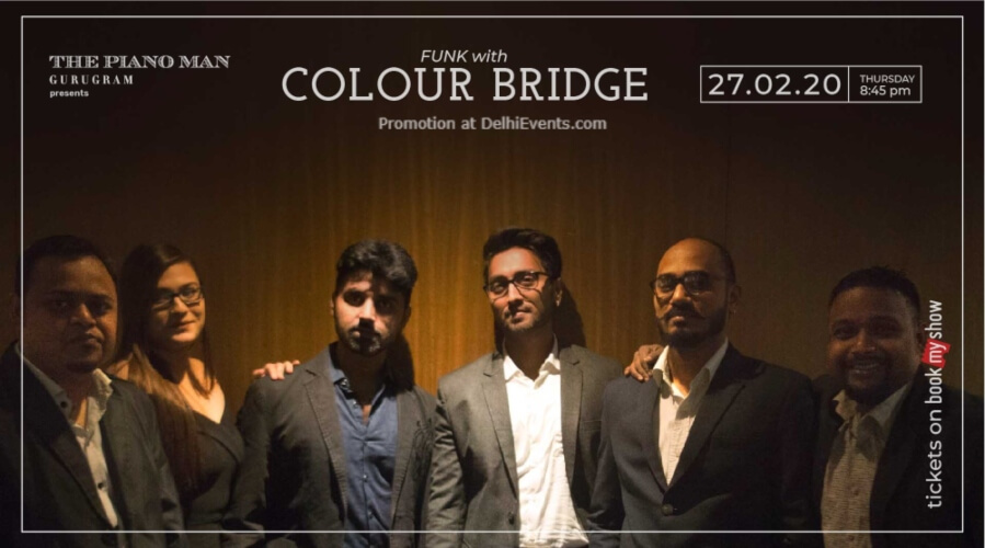 Colour Bridge Piano Man Gurugram Creative