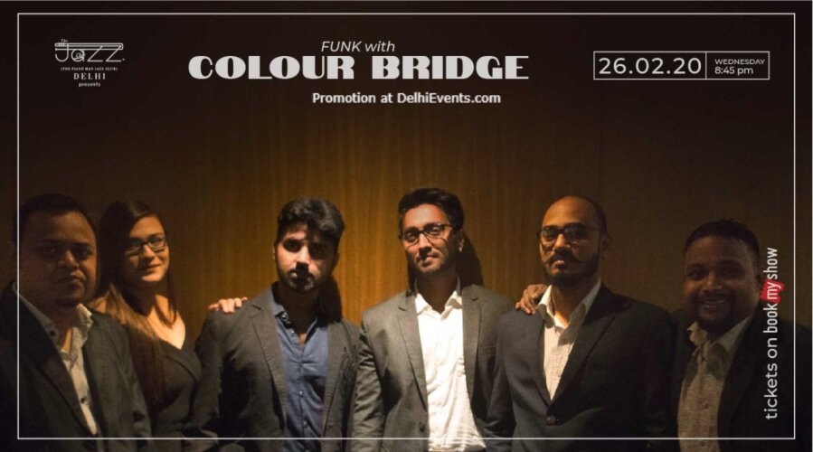 Colour Bridge Piano Man Jazz Club Safdarjung Enclave Creative