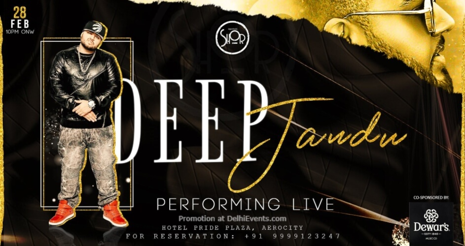 Deep Jandu Performing Imperfecto Shor Aerocity Creative