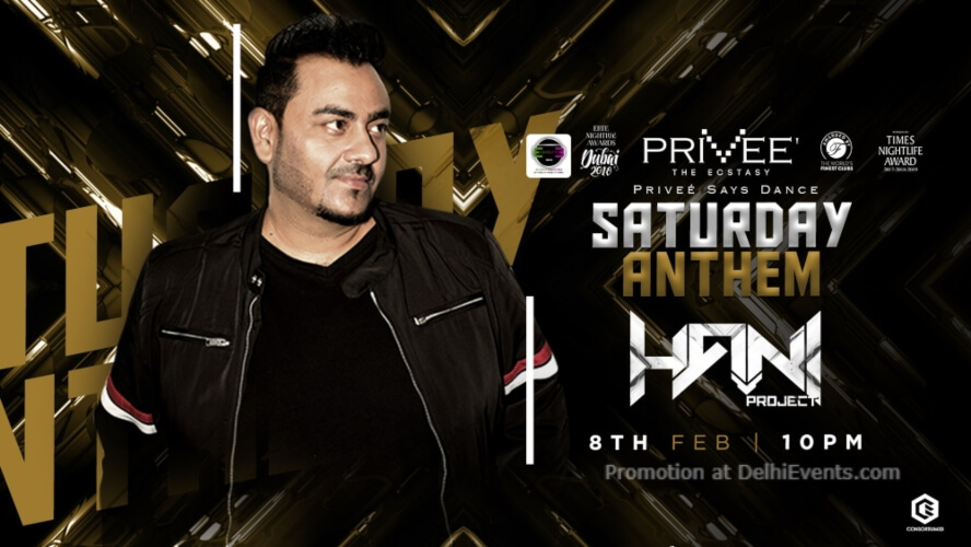 Saturday Anthem DJ Hani Privee CP Creative
