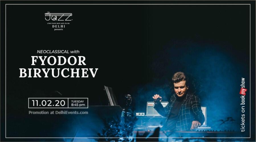 Fyodor Biryuchev Piano Man Jazz Club Safdarjung Enclave Creative