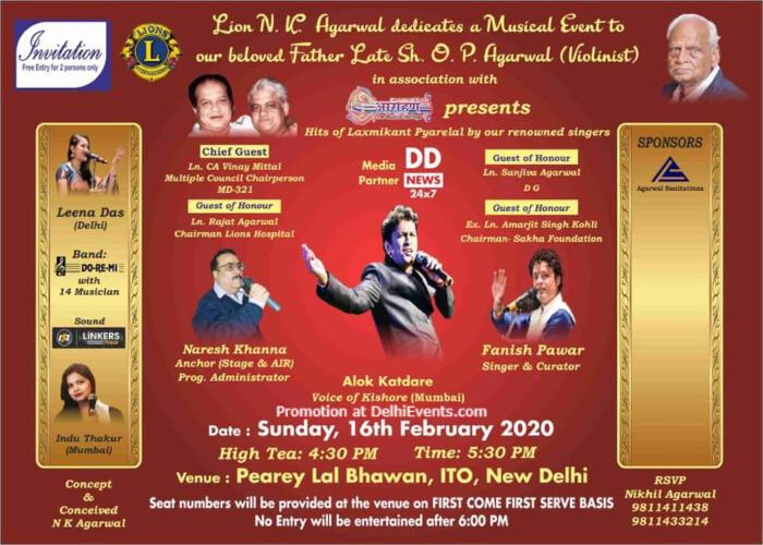 Hits Lakshmi Pyare Lal Pearey Bhavan 2 Bahadur Shah Zafar Marg Creative