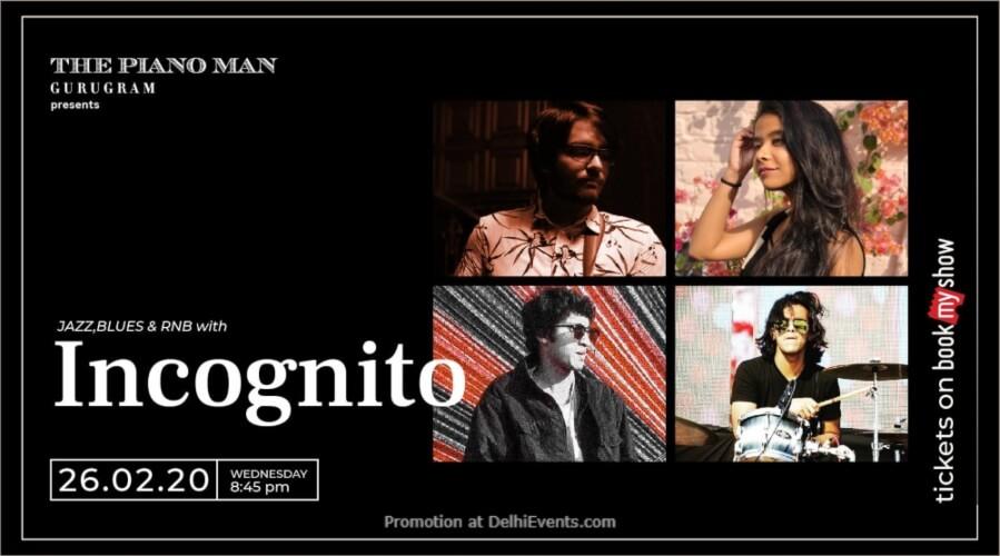Incognito Piano Man Gurugram Creative