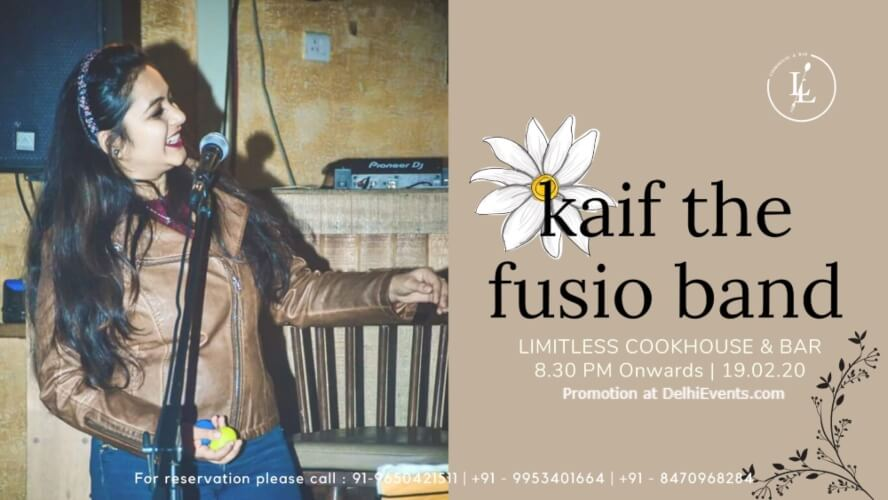 Kaif Fusio Band Ansal Plaza Khel Gaon Marg Creative