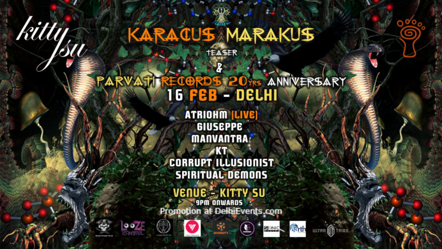 Karacus Marakus Teaser Parvati Records 20 Yrs Anniversary Kitty Su Lalit Connaught Place Creative