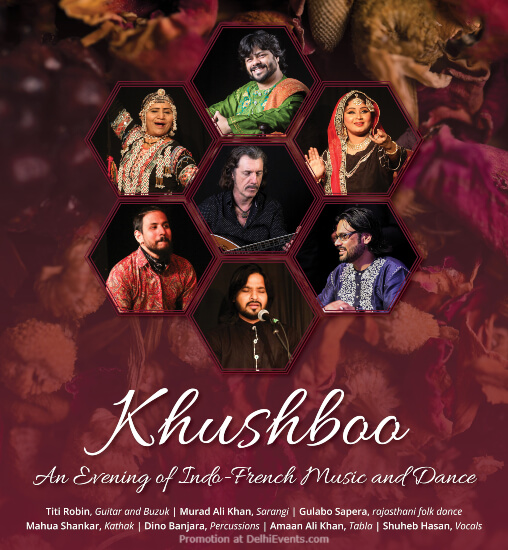 Khushboo IndoFrench Music Dance Alliance Francaise Lodhi Road Creative