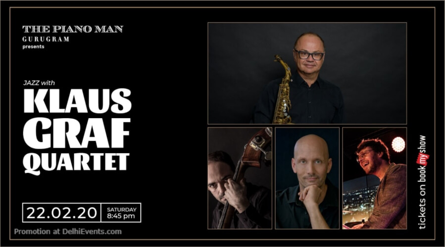 Klaus Graf Quartet Piano Man Gurugram Creative