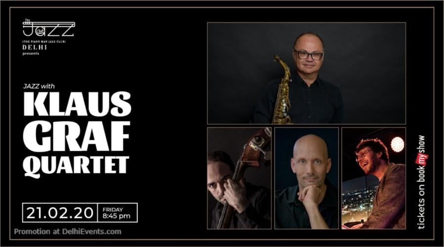 Klaus Graf Quartet Piano Man Jazz Club Safdarjung Enclave Creative