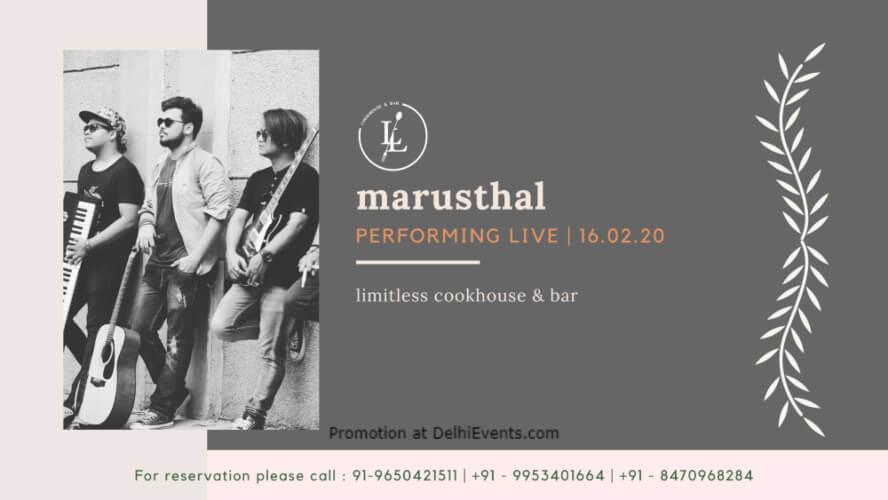Rejuvenate Sundays Marusthal Band Ansal Plaza Khel Gaon Marg Creative