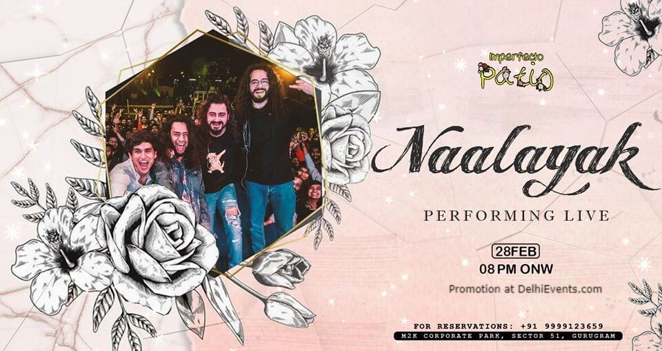 Naalayak Performing Imperfecto Patio Gurugram Creative