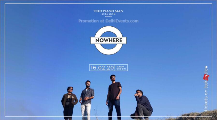 Nowhere Station Piano Man Gurugram Creative