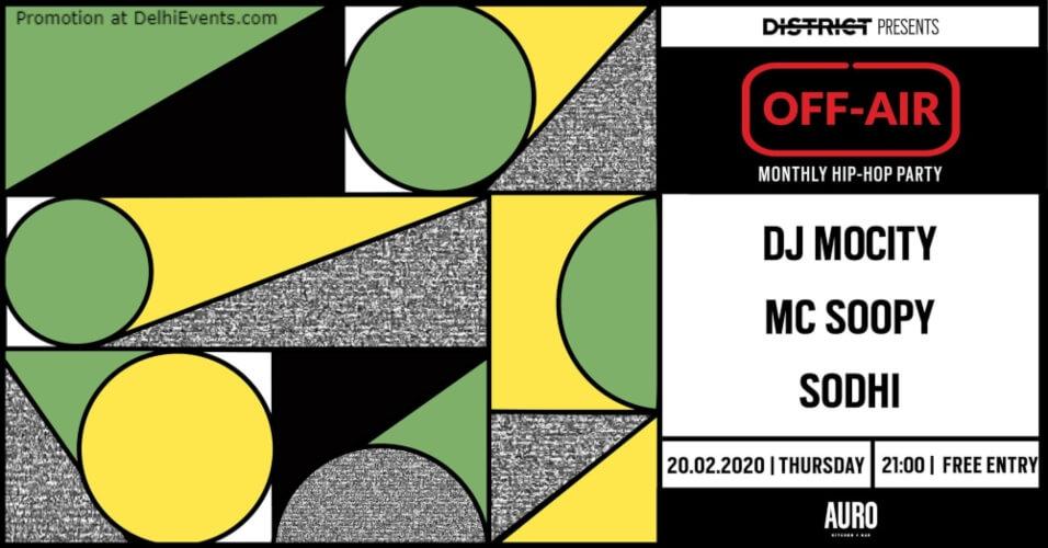offAir W DJ MoCity MC Soopy Sodhi Auro Kitchen Bar Hauz Khas Creative
