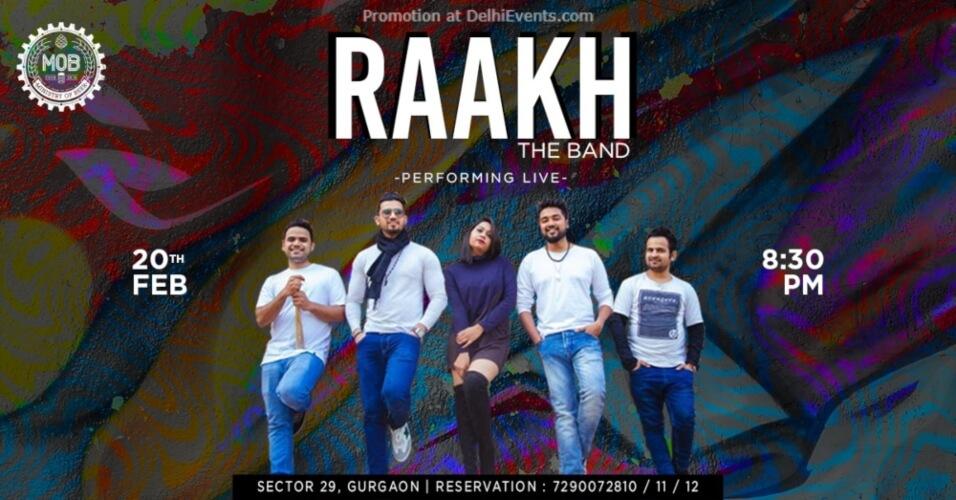 Raakh Band Performing Ministry Beer Gurugram Creative