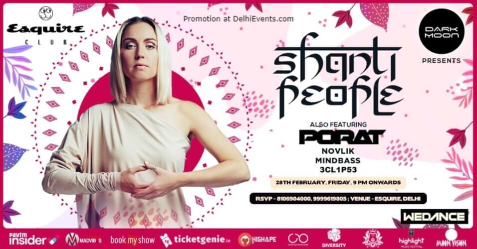 Shanti People Porat Esquire Club Chanakyapuri Creative