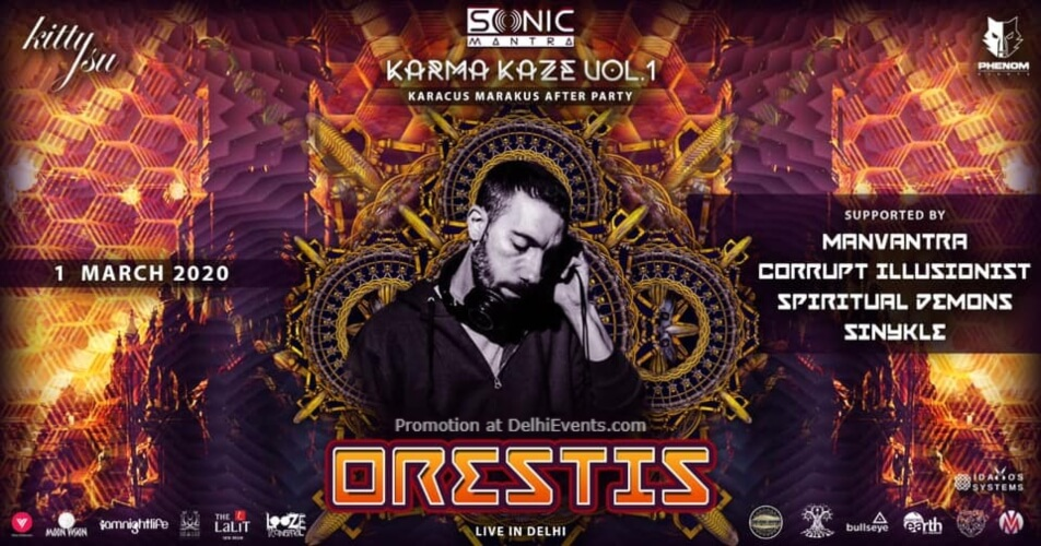 Sonic Mantra Karacus Marakus afterparty Orestis Kitty Su Lalit Connaught Place Creative