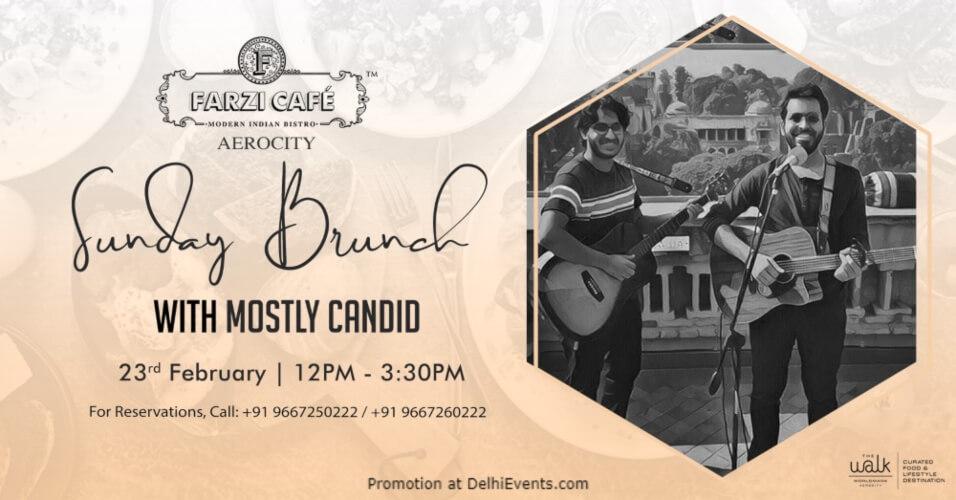 Sunday Brunch Mostly Candid! Farzi Cafe Aerocity Creative