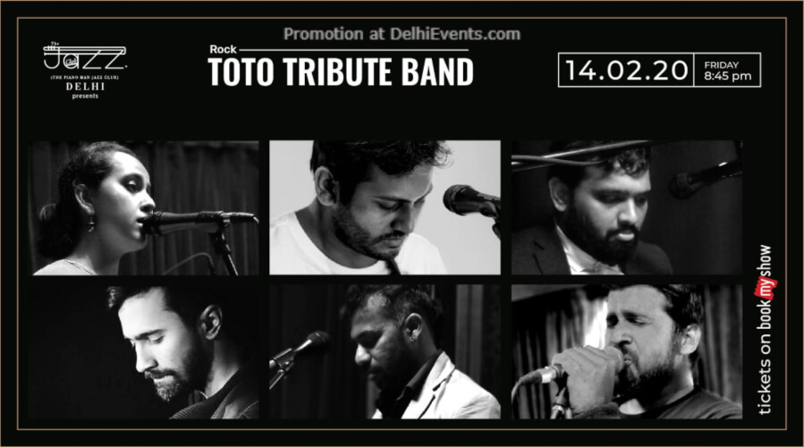 TOTO Tribute Band Piano Man Jazz Club Safdarjung Enclave Creative