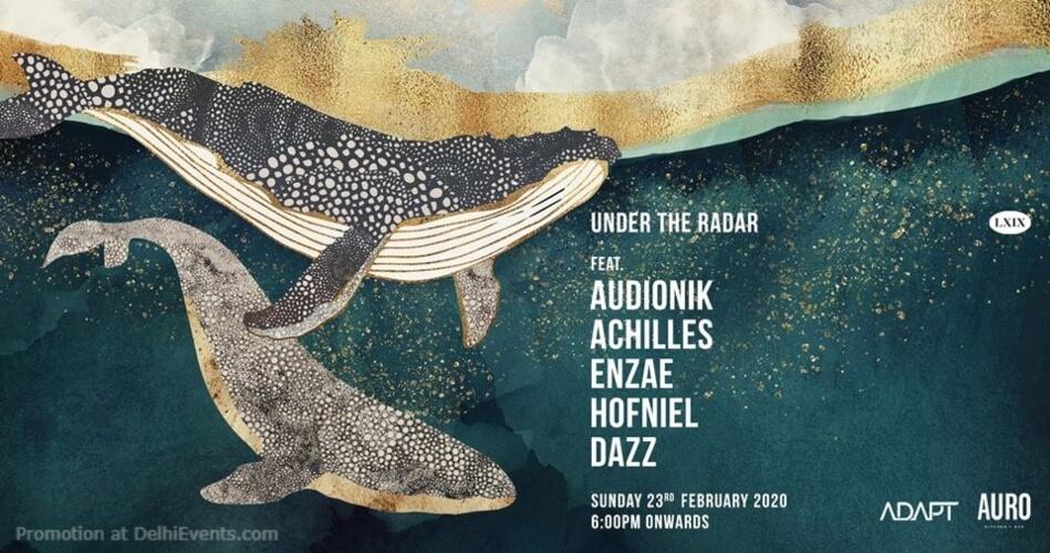 Under Radar X ADAPT Academy Auro Kitchen Bar Hauz Khas Creative