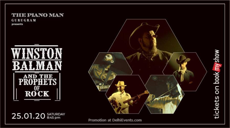 Winston Balman Prophets Rock Piano Man Jazz Club Safdarjung Enclave Creative