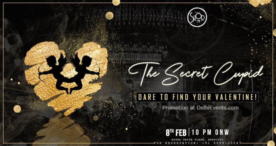 Secret Cupid Dare find your Valentine Imperfecto Shor Aerocity Creative