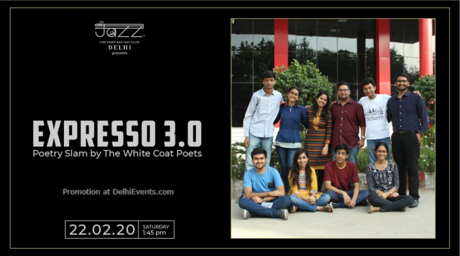 Expresso Poetry Slam White Coat Poets Piano Man Jazz Club Safdarjung Enclave Creative