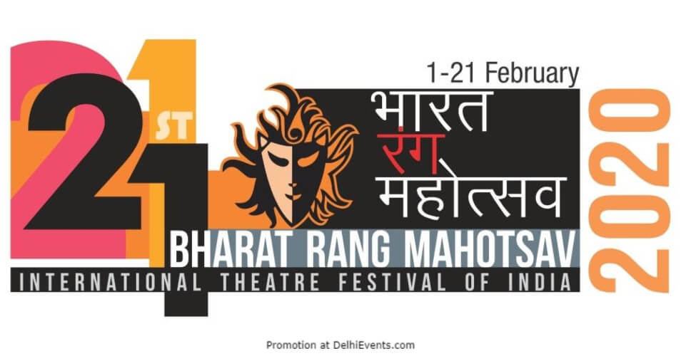 21st Bharat Rang Mahotsava BRM International Theatre Festival Creative