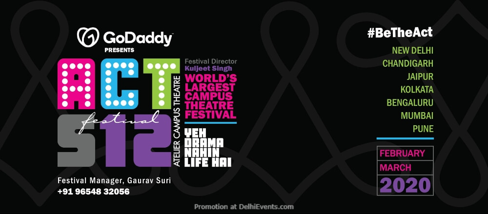 Ateliers Campus Theatre Festival India Habitat Centre Lodhi Road Creative
