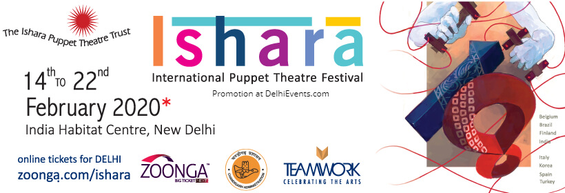 Ishara International Puppet Theatre Festival India Habitat Centre Lodhi Road Creative